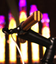 wooden handlebar church