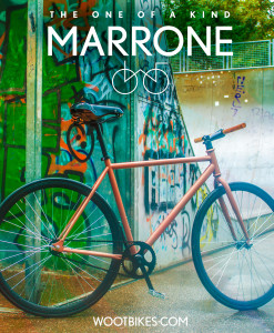 Marrone copper wootbike unique