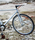 wootbikes sputnik industrial fixie straight handlebar