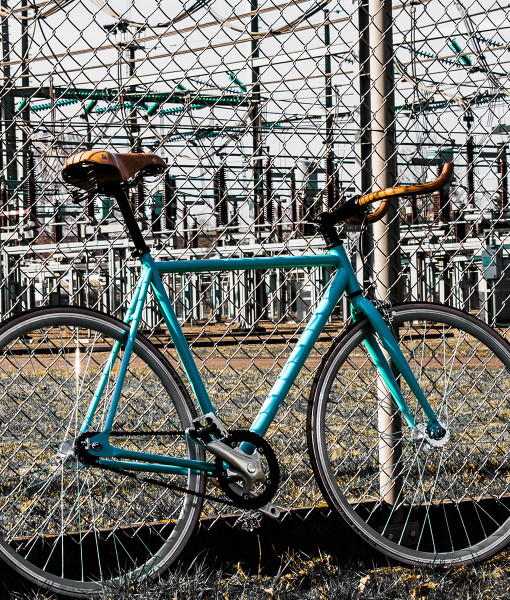 Wootbikes retro industrial fixed gear